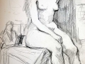 sketch female nude