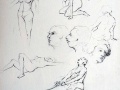 sketches various figurative