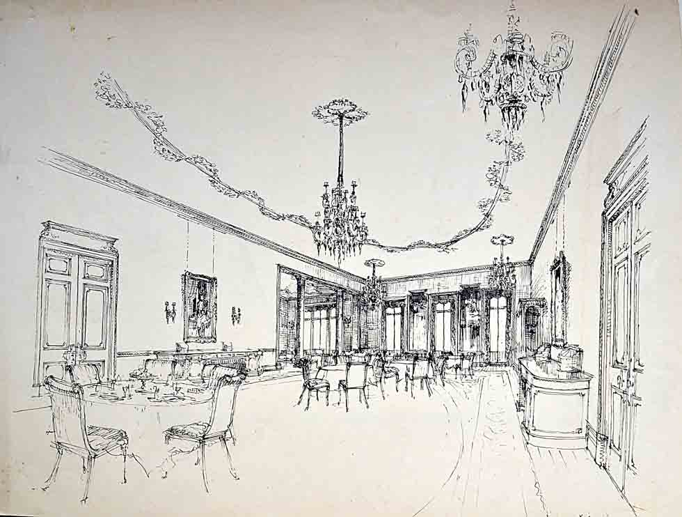 Park Lane Hotel, Picadilly, dinning room