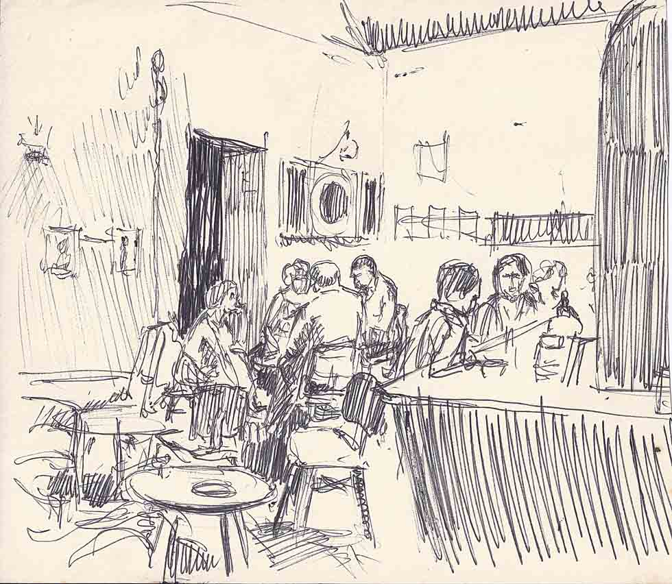 Rough sketch bar Sark
