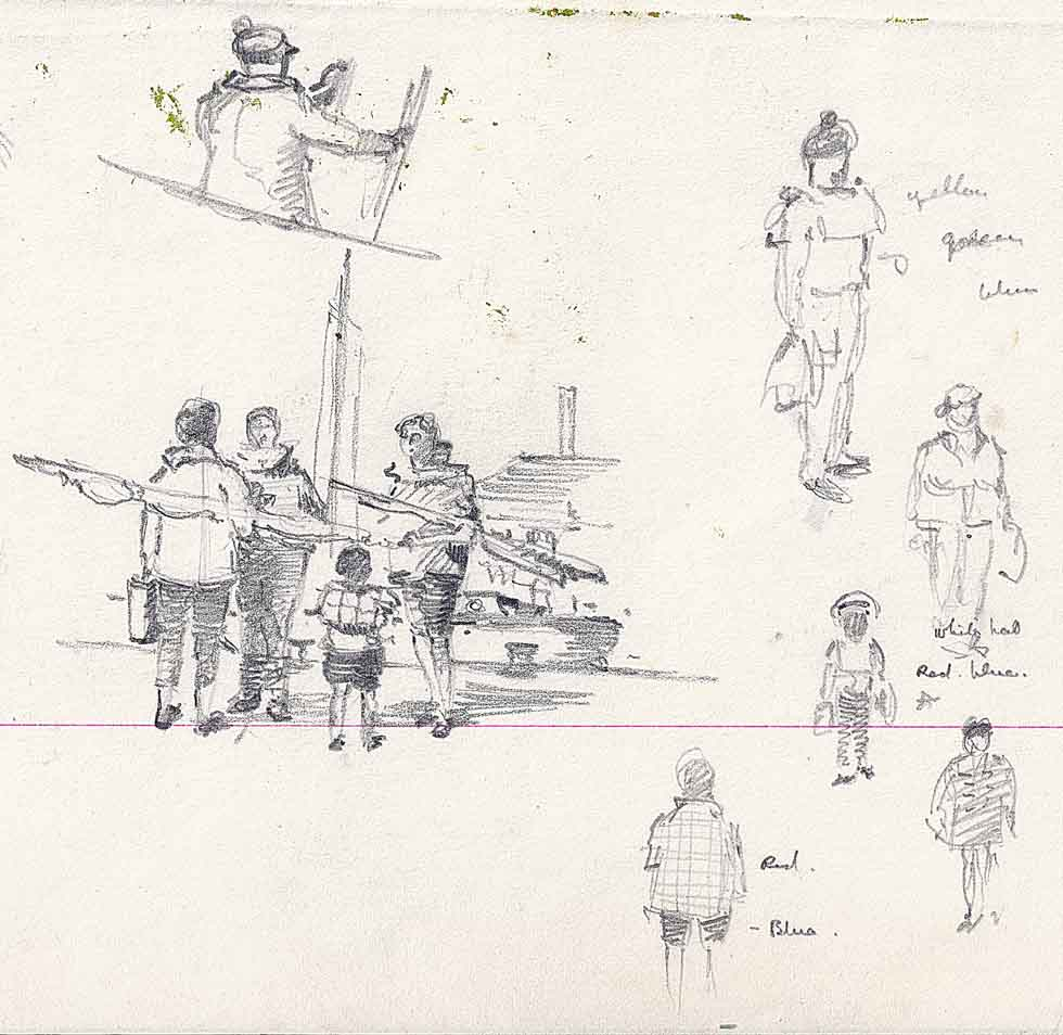 Sketches, possibly Poole