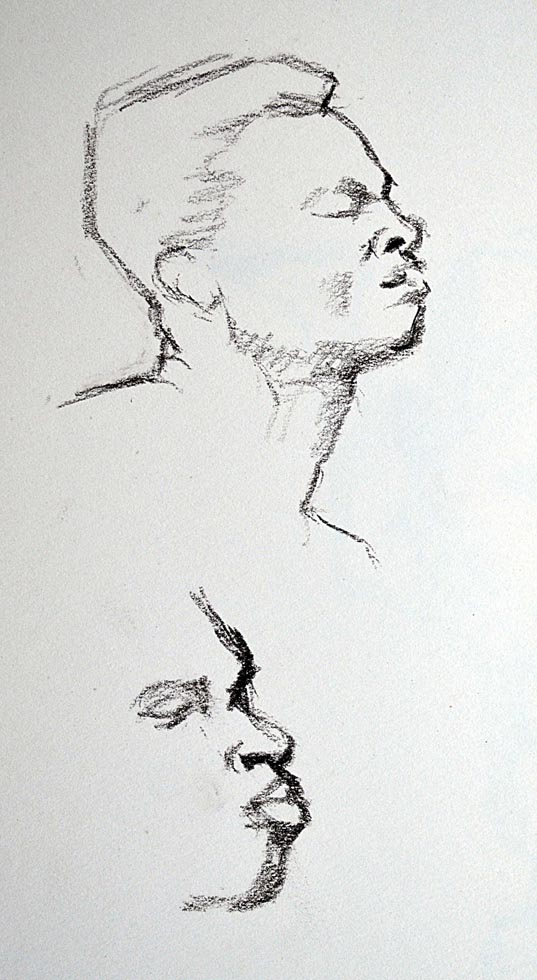 Sketch, study male