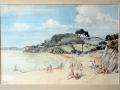 Blackpool Sands Dorset 1954