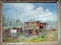 Gypsy Caravan. Westerham area, 1956