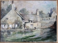 Mill Pond, Swanage, oil