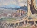 Detail of tree, Elgin