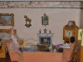 Dolls house with Painting in dolls house,