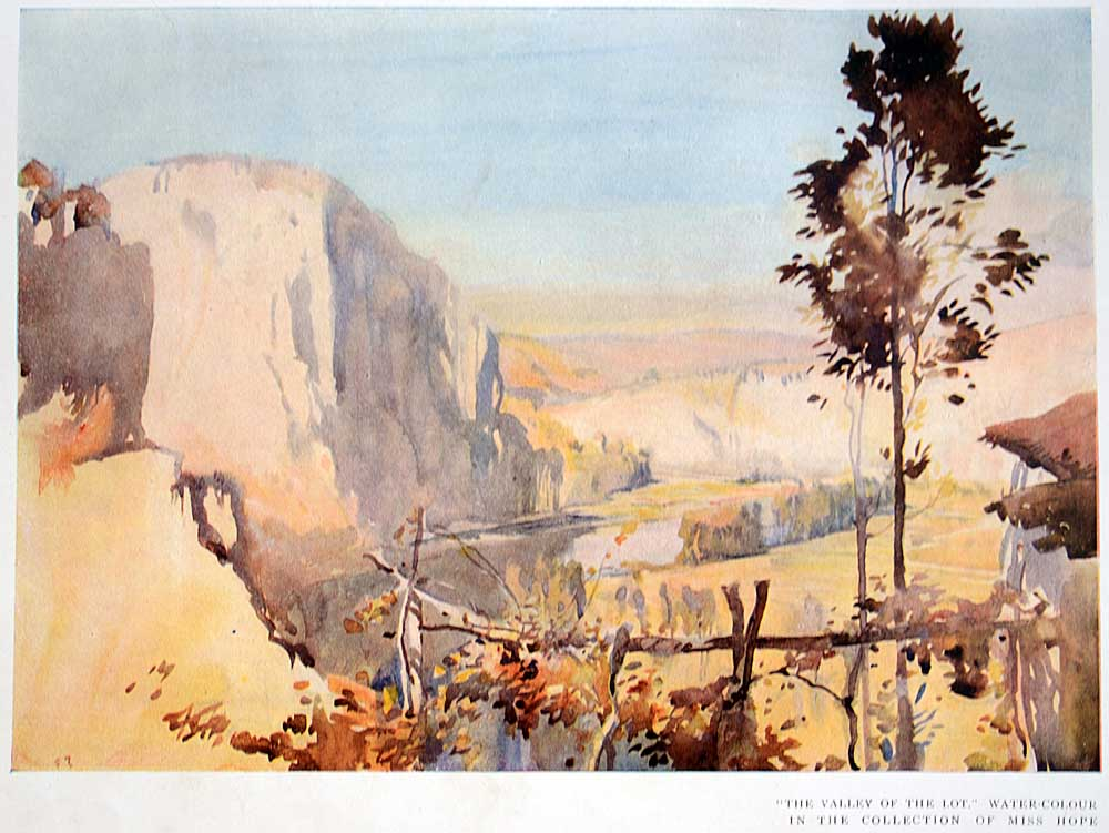 Frank Brangwyn Lot valley