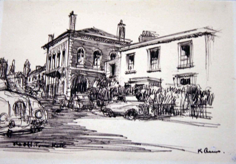 Town Hall.Chertsey
