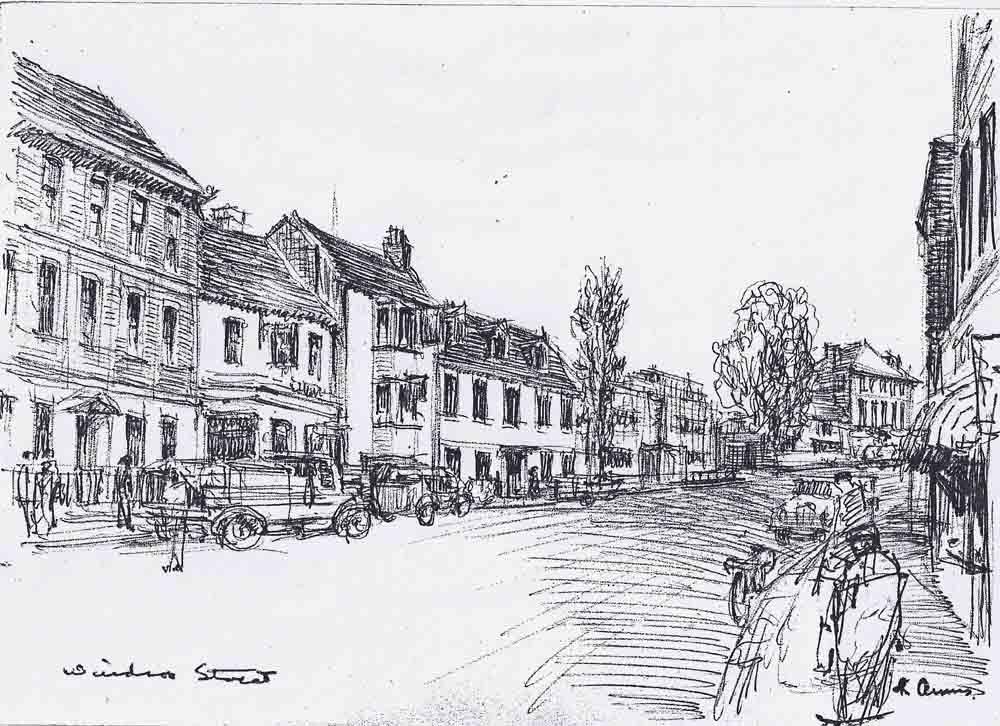 Windsor St., Chertsey 1958