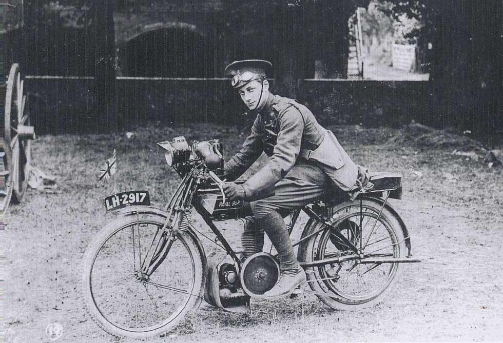 Capt. Anns on Motorbike