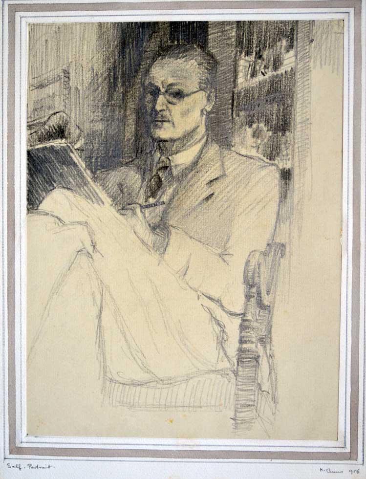 Kenneth- self portrait - drawing