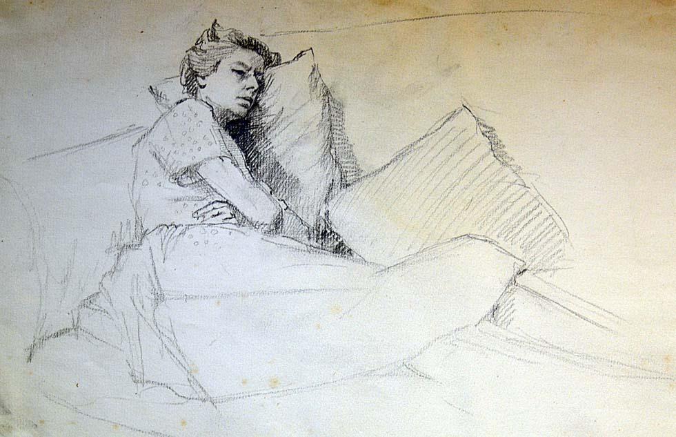Margaret Anns sleeping