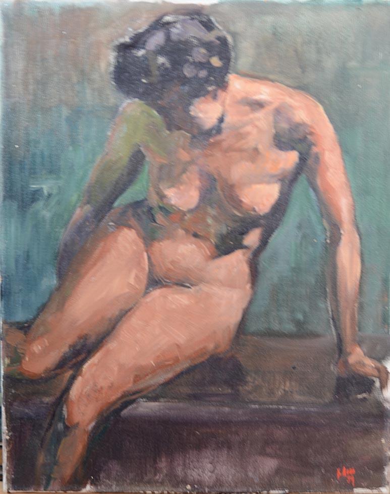 Nude, St Martins Art School work
