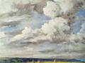 Sark-from-Beauregard, oil on canvas