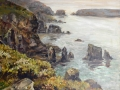 Sark-towards-Bechou oil on canvas