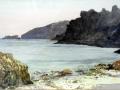 Dixcart Bay, watercolour