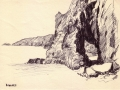 Sark, Dixcart Bay, rock hole