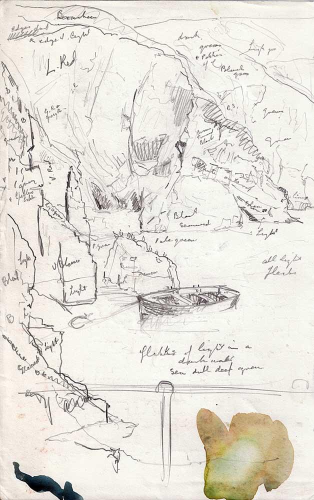 Masline harbour, Sark