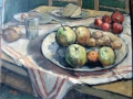 still life with apples, 1930's