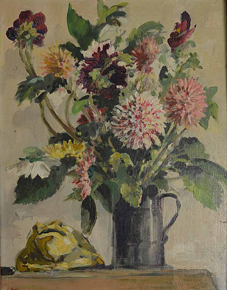 Flowers & Frog 1959