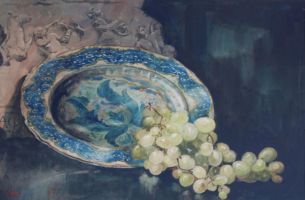Still Life with fragment & Plate
