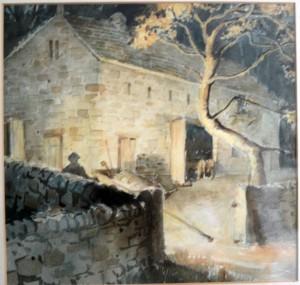 Yorkshire farm house